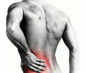 smerter i venstre side ved ryggen