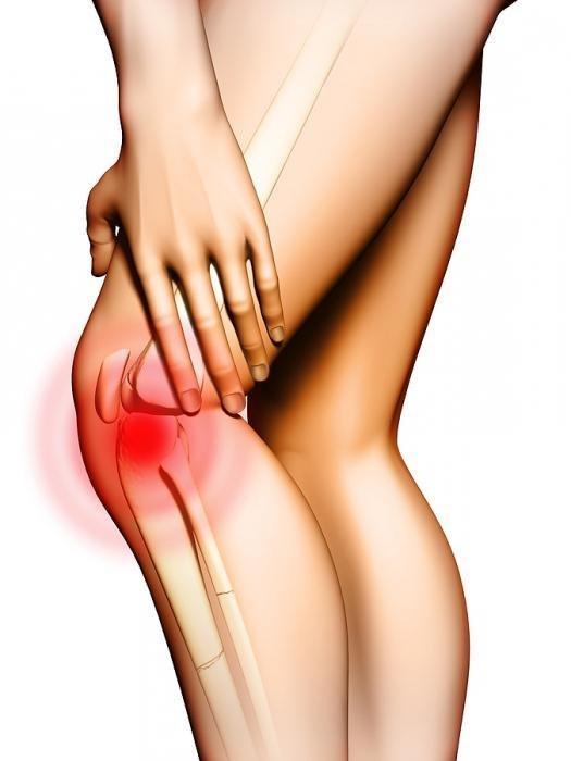 Не могу встать на колено резкая боль